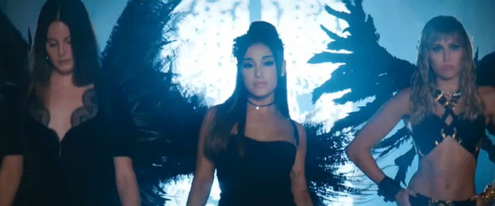 PHOTO: Dont Call Me Angel video trailer