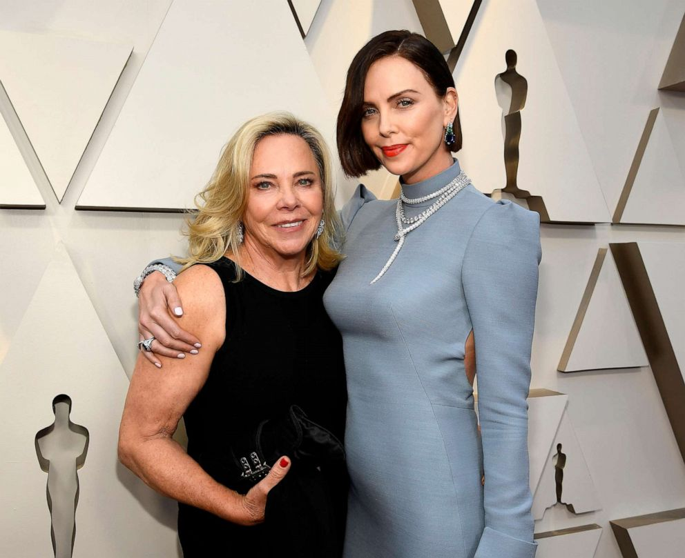 PHOTO: Gerda Moritz and Charlize Theron attend the 91st Annual Academy Awards on Feb. 24, 2019, in Hollywood, Calif.