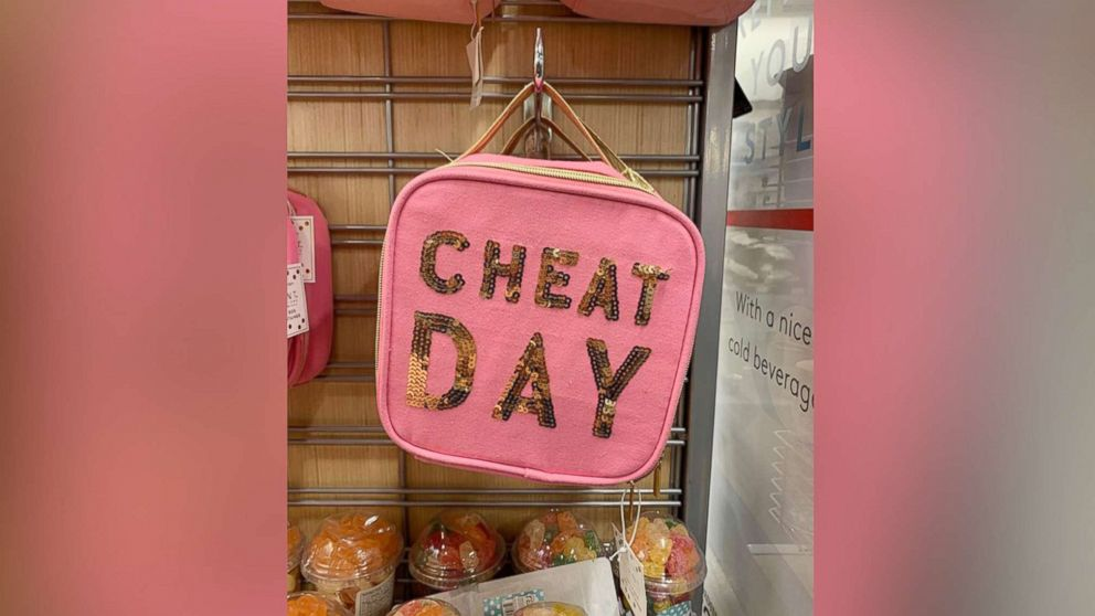"""Sonni Abatta, a mother of three, writer and podcast host, blogged about a pink, glittery lunchbox which read, """"Cheat Day"""" on Feb. 10, 2019. The picture sparked an online debate among parents on Facebook."""