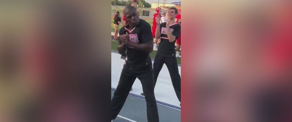PHOTO: LaDarius Marshall, a sophomore at Navarro College in Corsicana, Texas, has gained viral attention after recent footage of his enthusiasm was shared.
