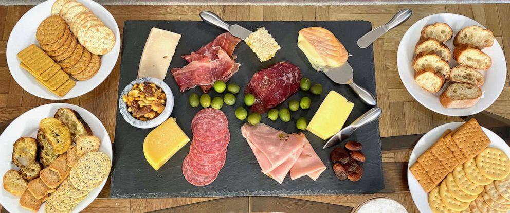 PHOTO: A cheese board made by chef Marc Murphy in New York City on October 8, 2019.