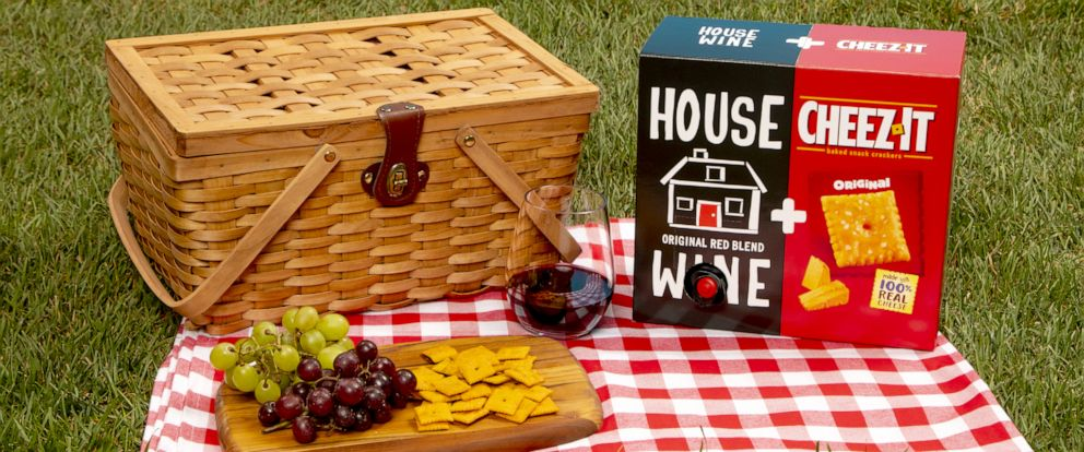 PHOTO: Cheez-It is out with a new collab with Precept Wine for the summer.