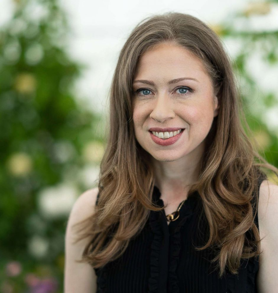 Chelsea Clinton, at the Hay Festival on June 2, 2018 in Hay-on-Wye, Wales.