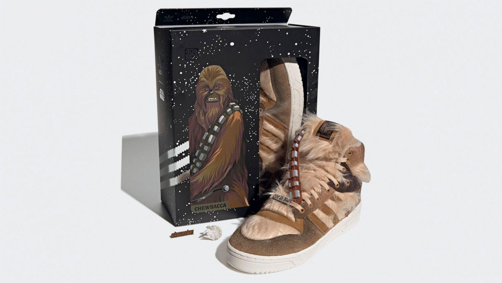 Adidas launches 'Star Wars' Boba Fett