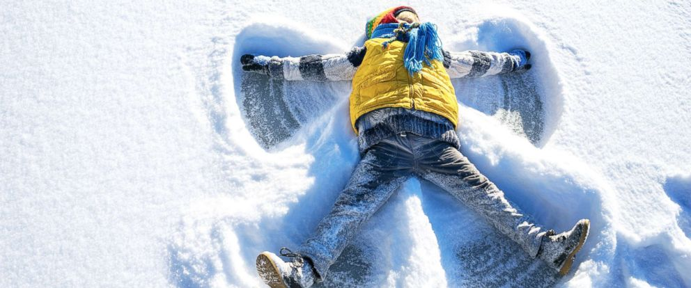 PHOTO: A child plays in the snow in the undated stock photo.