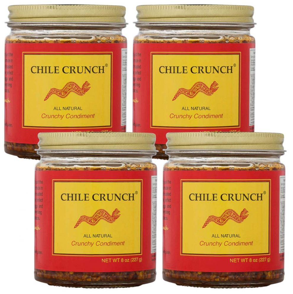 PHOTO: CHILE CRUNCH products are pictured here.
