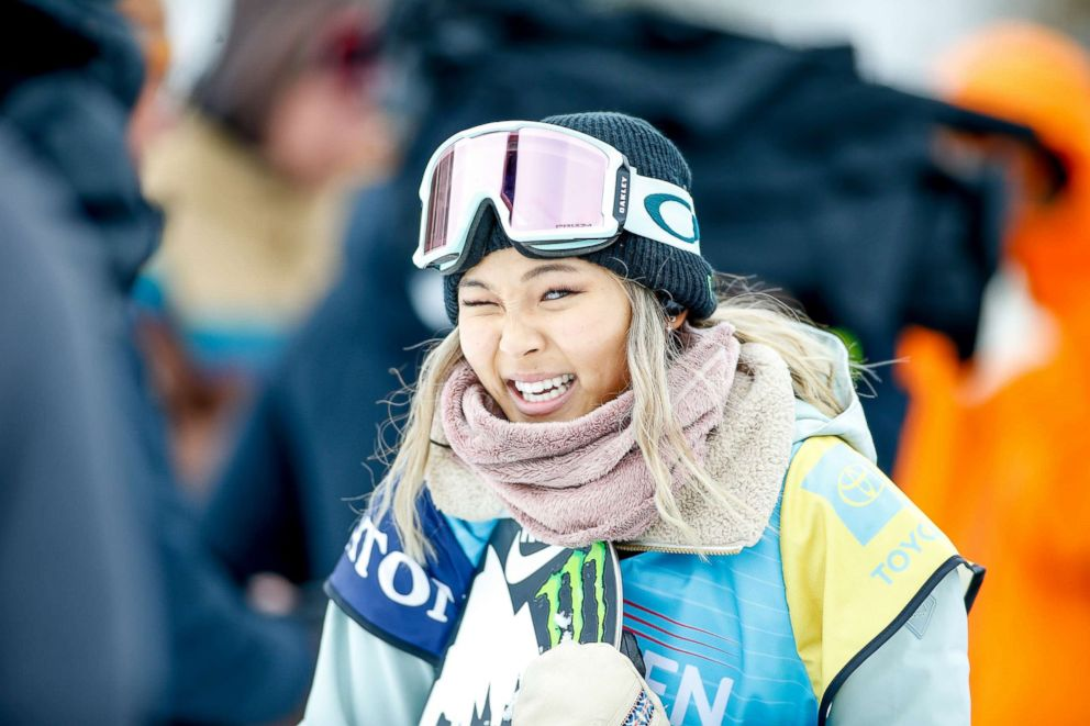 PHOTO: Chloe Kim is pictured during Womens Halfpipe finals at the Burton U.S. Open Championships at Golden Peak on March 2, 2019, in Vail, Colo.