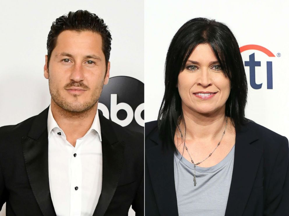 PHOTO: Valentin Chmerkovskiy attends an event on Aug. 7, 2018 in Beverly Hills, Calif.|Nancy McKeon attends an event on Sept. 15, 2014, in Beverly Hills, Calif.