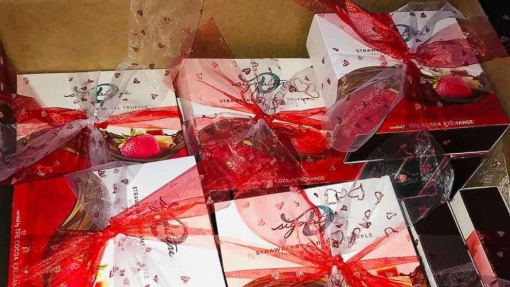 Dedra Moon made it her mission to help distribute Valentine's Day chocolates to survivors of domestic violence in her community.