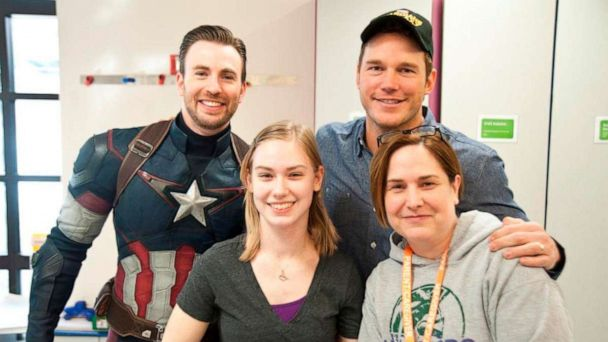 'Avengers: Endgame': Beyond the shield, Chris Evans is dedicated to helping kids beat cancer