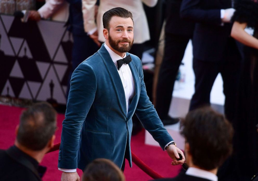 PHOTO: Chris Evans attends the 91st Annual Academy Awards, Feb. 24, 2019 in Hollywood, Calif.