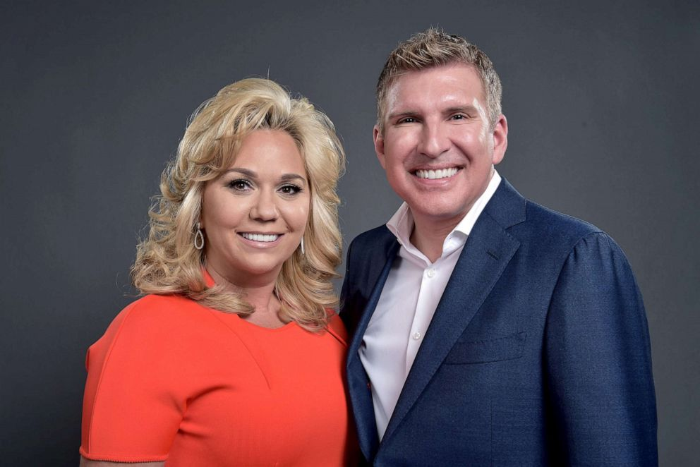 PHOTO: Julie Chrisley and Todd Chrisley of Chrisley Knows Best pose for a portrait during the NBCUniversal Summer Press Day at Four Seasons Hotel on April 1, 2016 in Westlake Village, California.