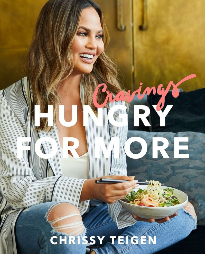 PHOTO: Chrissy Teigen shares a collection of recipes for the home cook in her new book, Cravings: Hungry for More.