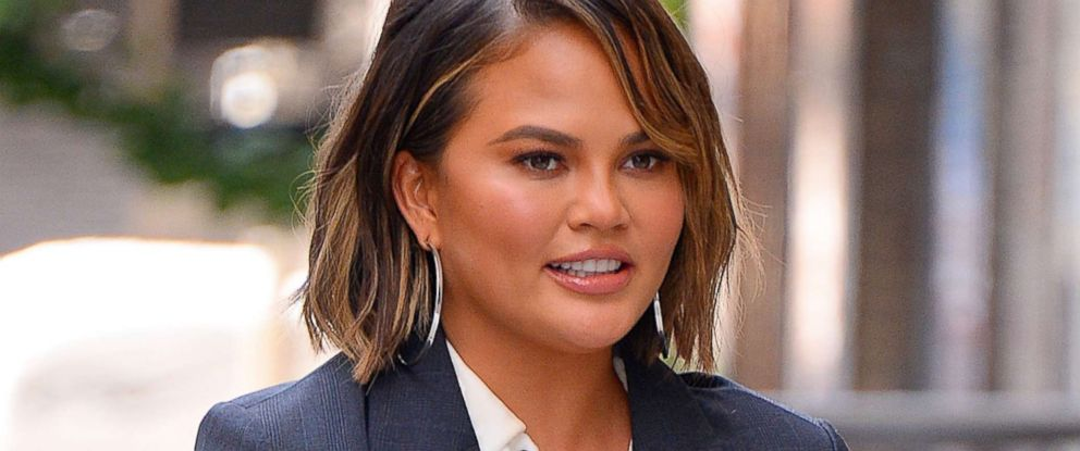 PHOTO: Chrissy Teigen seen out and about in Manhattan on Sept. 19, 2018 in New York.