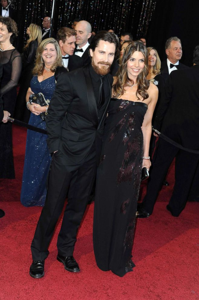 PHOTO: Christian Bale and wife attend the 83rd annual Academy Awards at the Kodak Theatre in Los Angeles, Feb. 27, 2011.