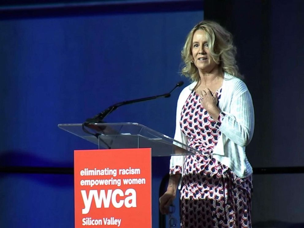PHOTO: YWCA honored Dr. Christine Blasey Ford at their Inspire luncheon in Santa Clara, Calif., Oct. 30, 2019.