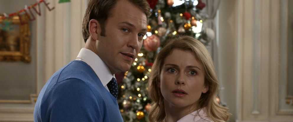 "PHOTO: Rose McIver and Ben Lamb star in the 2018 film, ""A Christmas Prince: The Royal Wedding."""