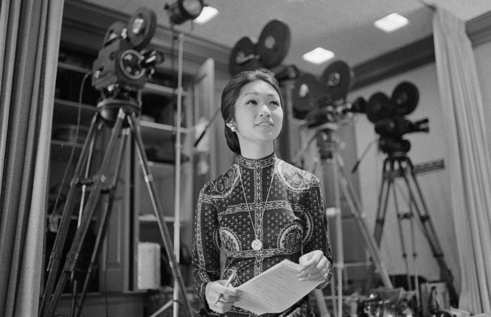 PHOTO: Connie Chung, 25, CBS News reporter, Feb. 8, 1972, in Washington, D.C.
