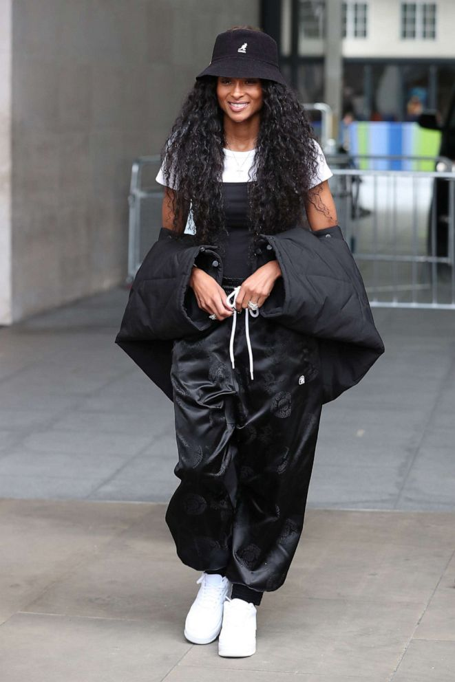 PHOTO: Ciara seen at the BBC Radio One studios on June 20, 2019 in London.