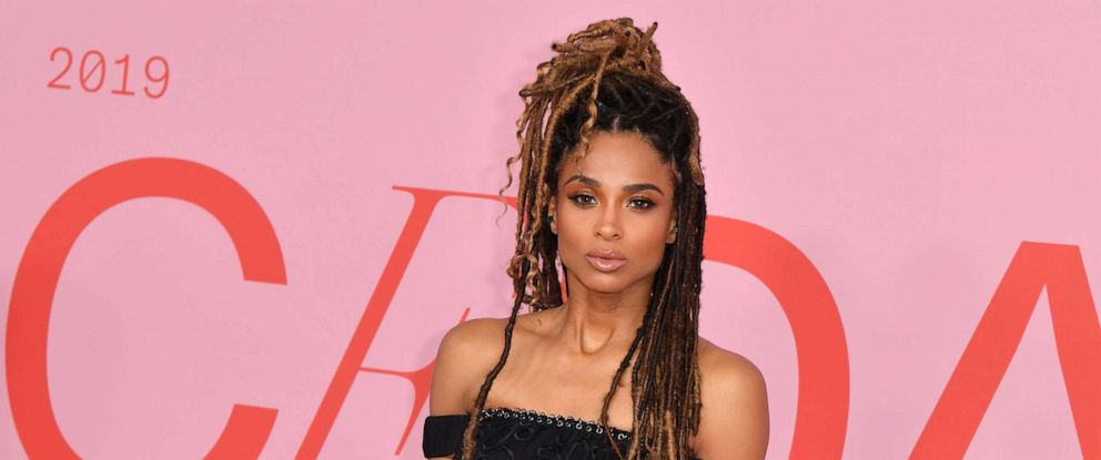 PHOTO: Singer Ciara arrives for the 2019 CFDA fashion awards at the Brooklyn Museum in New York City, June 3, 2019.