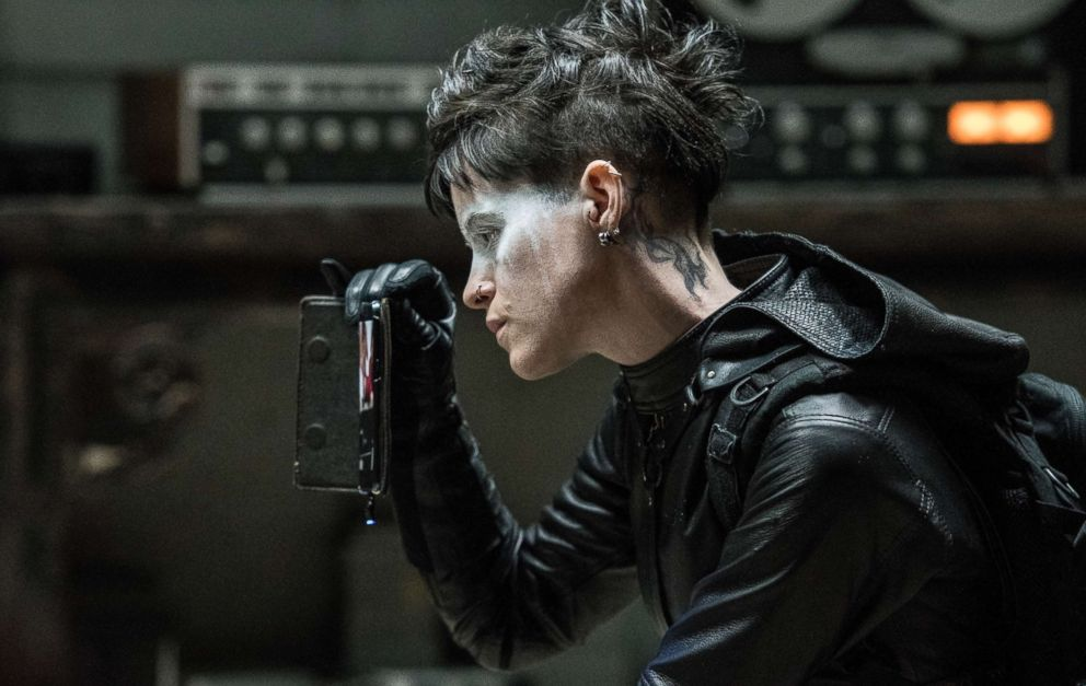 PHOTO: Claire Foy, as Lisbeth Salander, in a scene from The Girl in the Spiders Web.