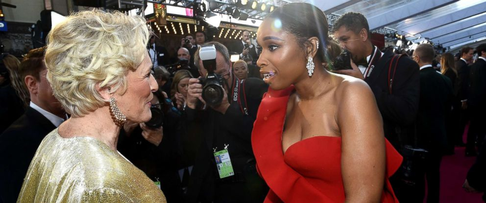 PHOTO: Glenn Close and Jennifer Hudson at the 91st Annual Academy Awards, in Hollywood, Calif., Feb. 24, 2019.