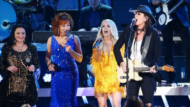 Biggest female artists in country music open 2019 CMA Awards with powerful performance