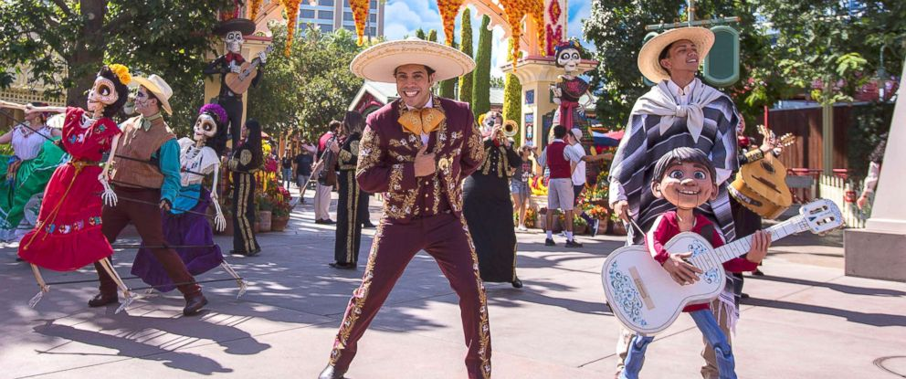 PHOTO: Plaza de la Familia is a limited-time celebration at Disneyland Resort that honors the everlasting bonds of family.