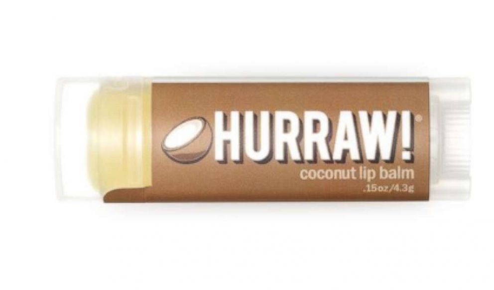 Hurraw Coconut Lipbalm available at The Detox Market is pictured here.