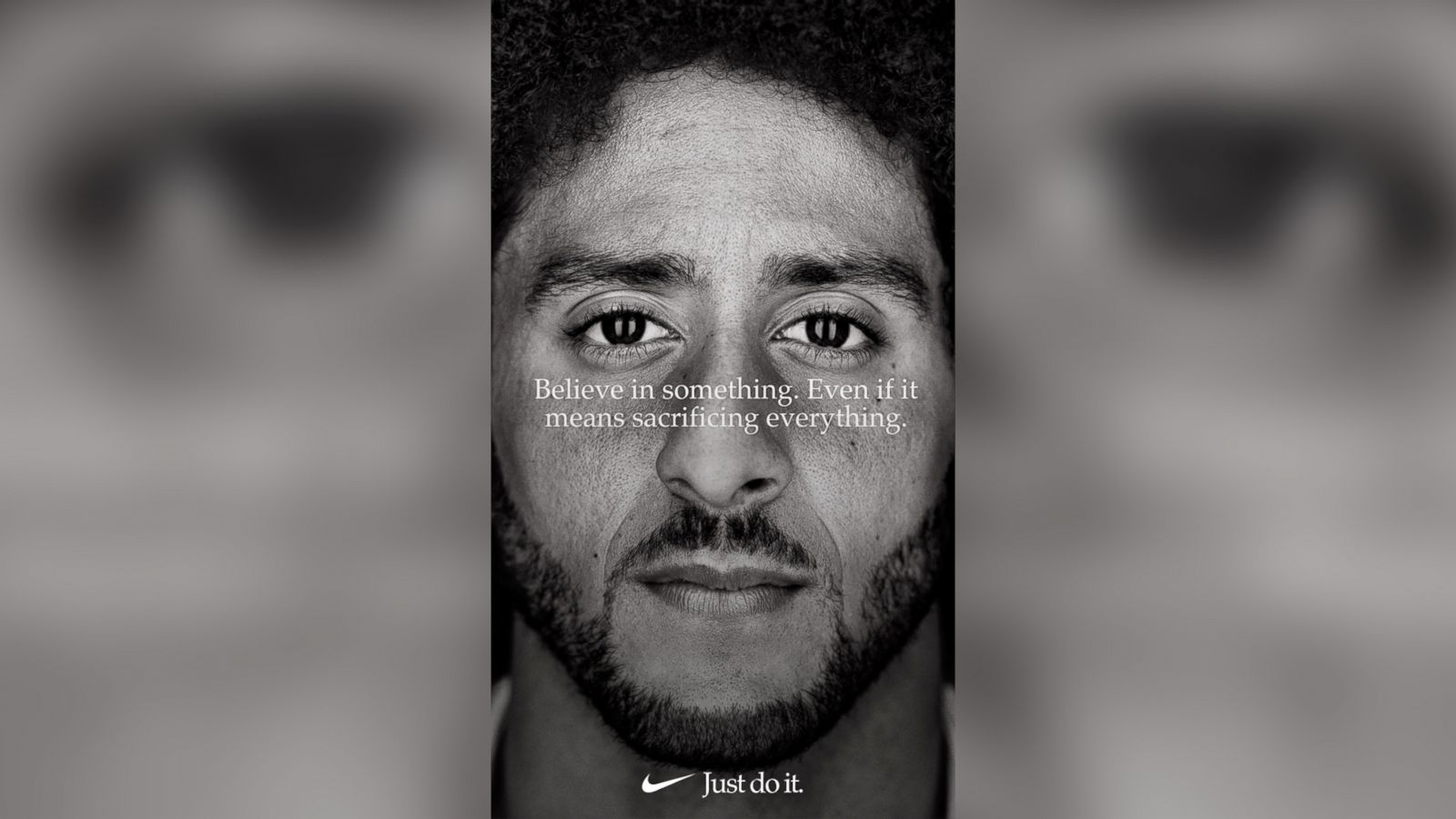 c1462184173 Colin kaepernick named face of nikes new anniversary just do it campaign  abc news jpg 1600x900