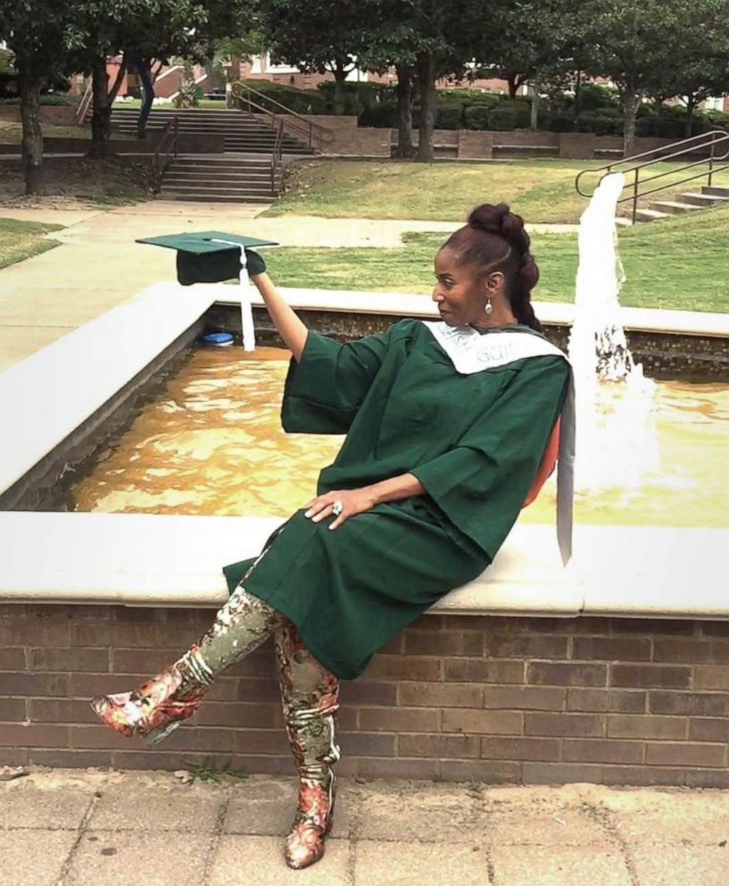 PHOTO: Madelyn McClarey graduated from Florida A&M University in May 2019.