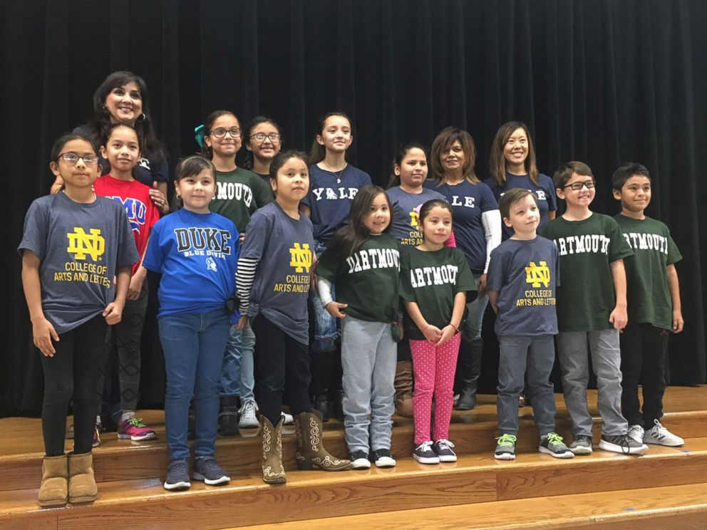 PHOTO: Margaret Olivarez, a third-grade teacher at Copperfield Elementary School in Texas, said her students come from very low-income families.