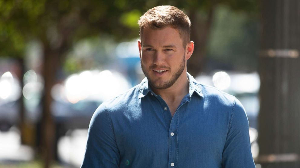 Bachelor Colton Underwood.