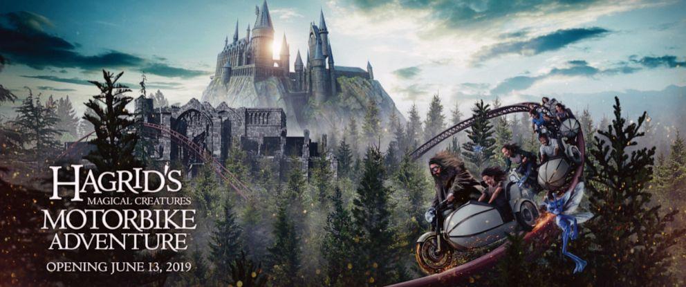 PHOTO: Hagrids Magical Creatures Motorbike Adventure