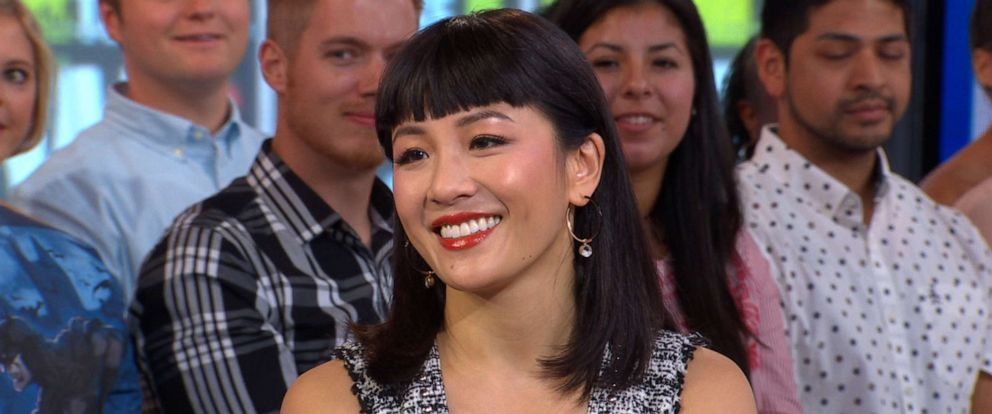 """PHOTO: Constance Wu joins """"Good Morning America"""" to talk about her new movie """"Hustlers,"""" Sept. 4, 2019."""