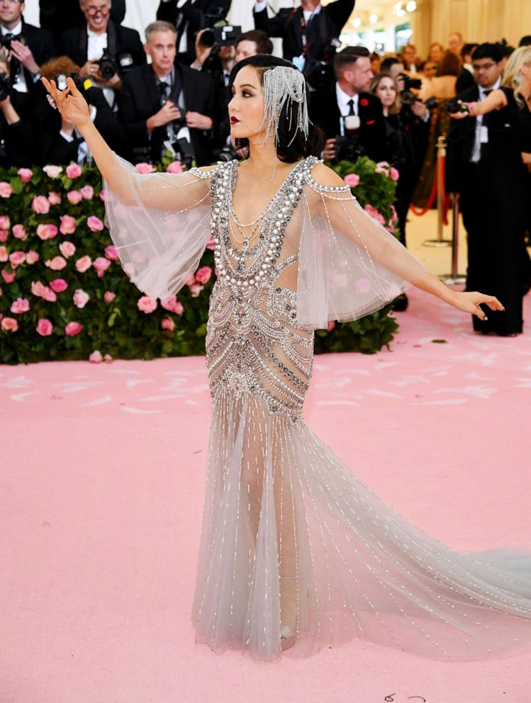 PHOTO: Constance Wu attends the 2019 Met Gala Celebrating Camp: Notes on Fashion at the Metropolitan Museum of Art, May 6, 2019, in New York City.