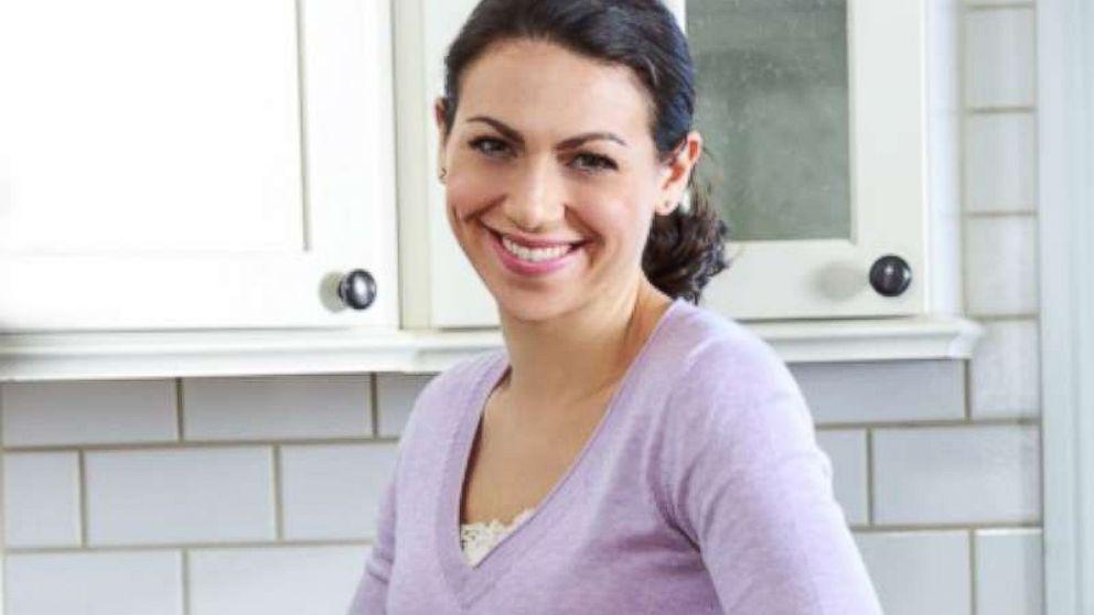 Elisa Strauss prepares to make cookies.