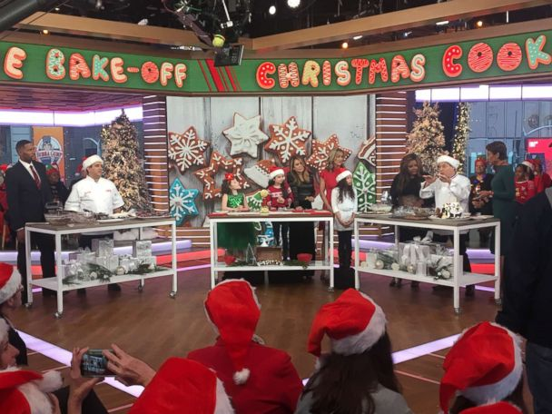 Christmas cookie bake off with Jacques Torres, Buddy