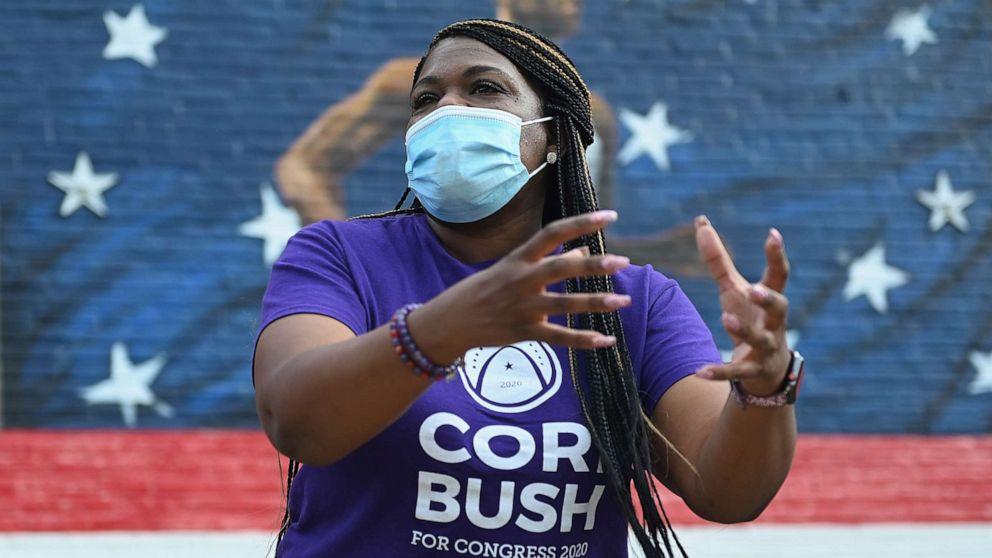 Cori Bush makes history as 1st Black woman to represent Missouri in Congress