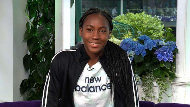 15-year-old tennis phenom Coco Gauff describes her 'roller coaster' Wimbledon run
