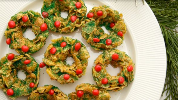25 Days of Cookies: Taste of Home's no-bake holiday cornflake cookies