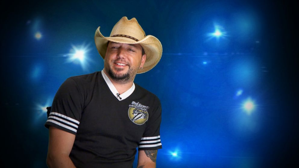 PHOTO: Jason Aldean appears in an interview for the ABC special, Country Musics Biggest Stars: In the Spotlight with Robin Roberts.