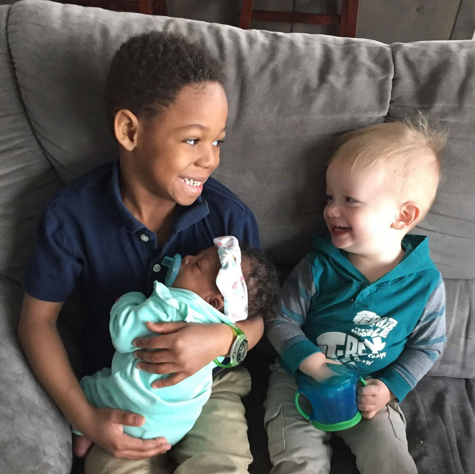 Couple learns adopted son's birth mom is pregnant with a baby girl