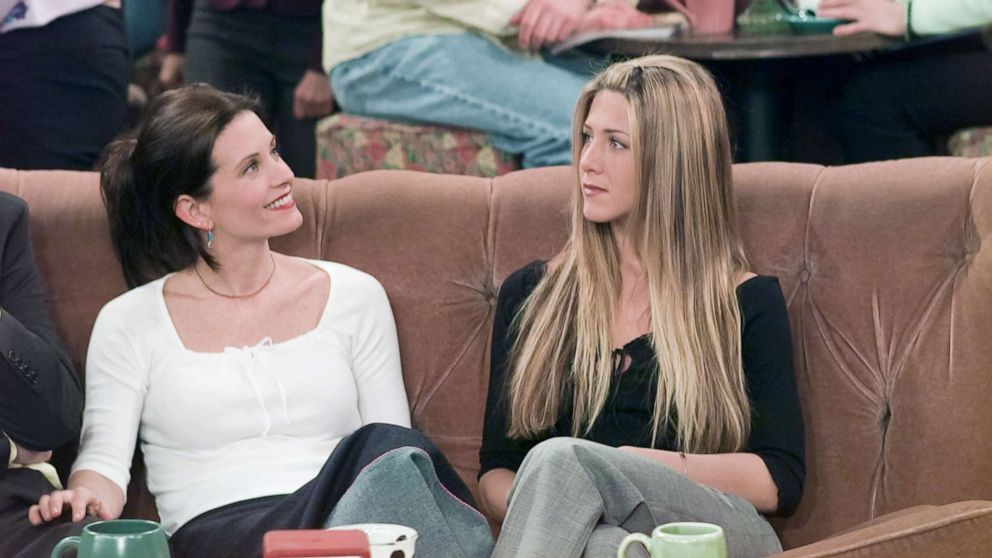 Courteney Cox shares 'Friends' video after Jennifer Aniston tells her to post it