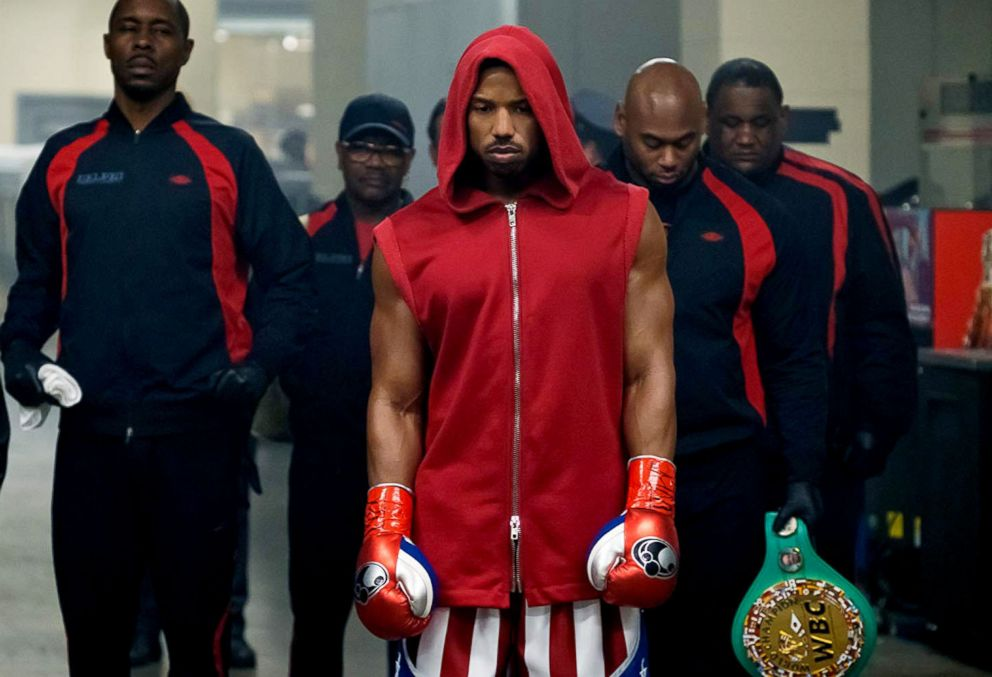 PHOTO: A scene from Creed II.
