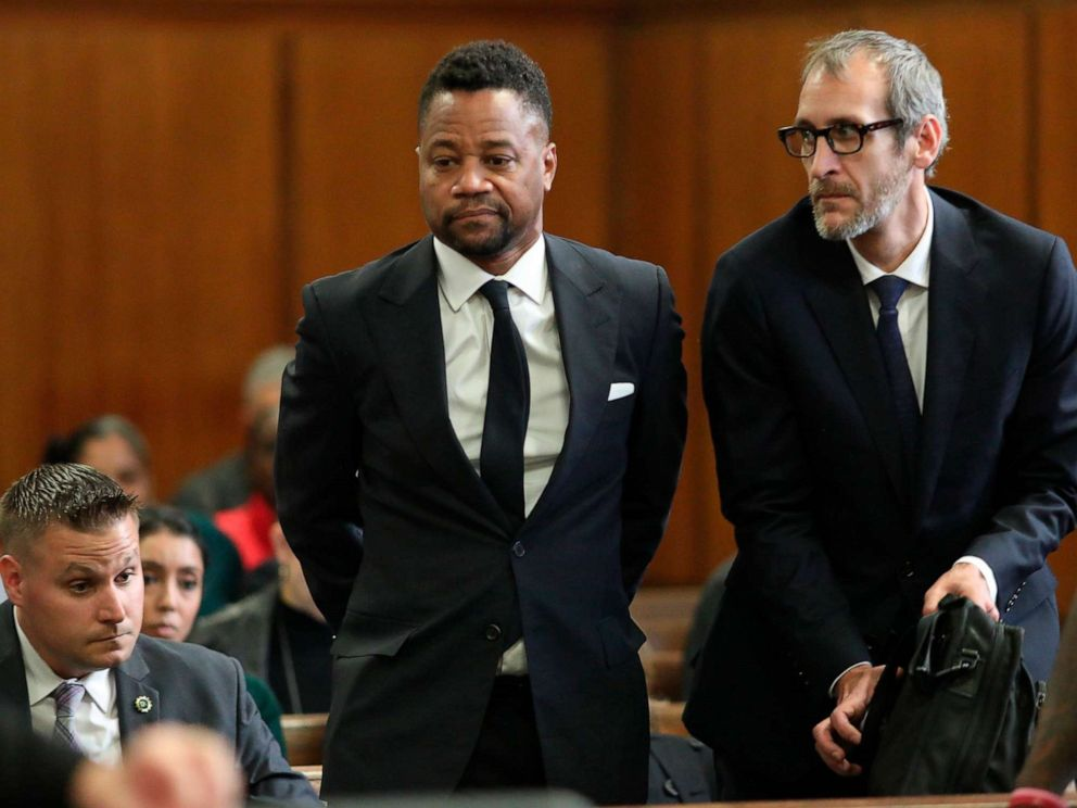 PHOTO: Cuba Gooding Jr.appears in court to face new sexual misconduct charges, Oct. 15, 2019, in New York.