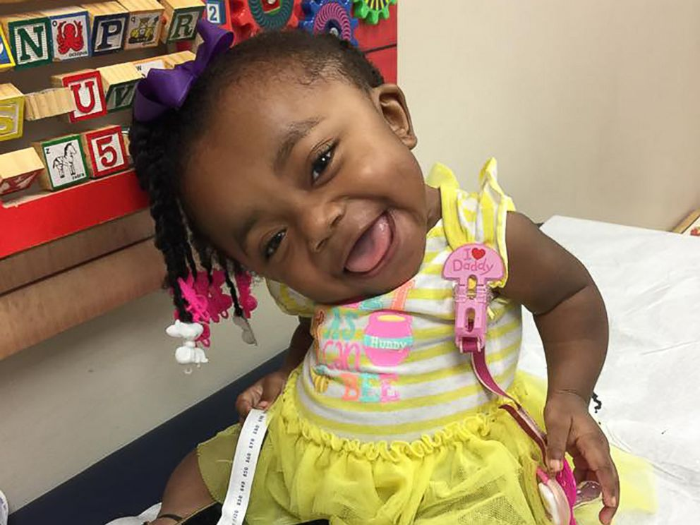 PHOTO: Cynniah Burton, aka Little Cee Bitty Bee, has racked up hundreds of thousands of views on Facebook showing off her infectious personality.