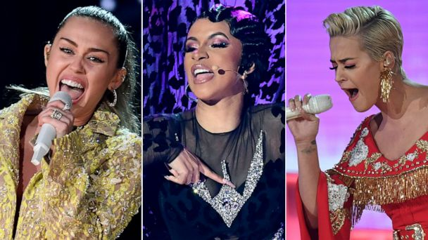 Katy Perry Miley Cyrus And Cardi B React To Having Music Debut On