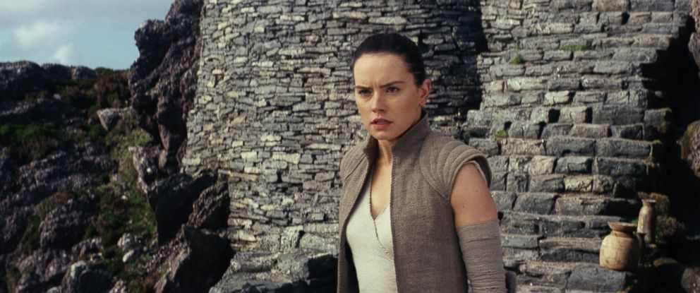 "PHOTO: Daisy Ridley stars in a scene from ""Star Wars: The Last Jedi."""