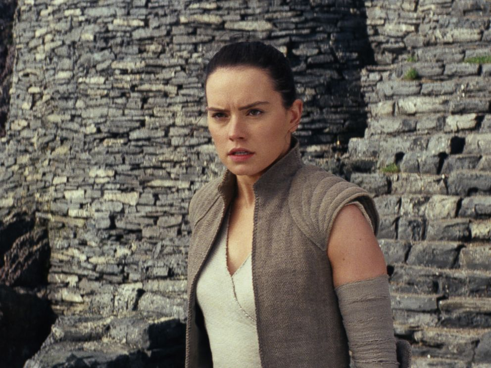 PHOTO: Daisy Ridley stars in a scene from Star Wars: The Last Jedi.